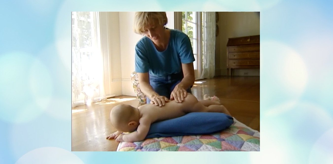 Johnson's Baby Benefits of Touch and Massage for Babies