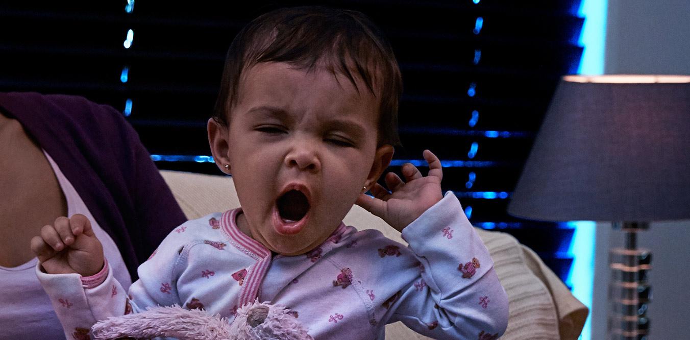 toddle yawning image